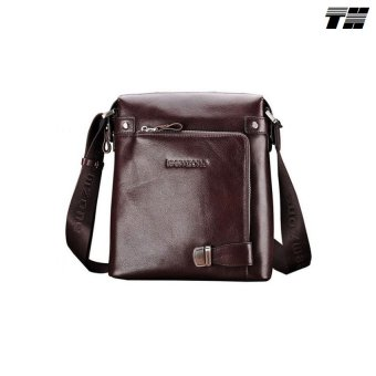 Túi đeo chéo da bò Teemzone (cafe)