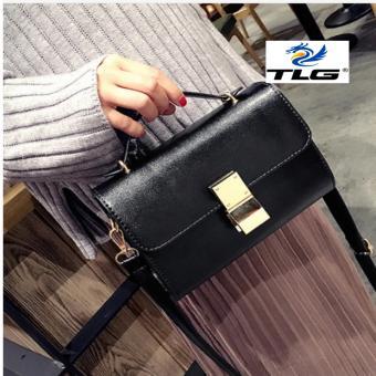 Túi nữ thời trang phong cách Hàn Quốc Đồ Da Thành Long TLG 208098-2(đen)