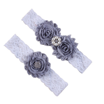 Baby Flower Lace Hair Bands Kids Headbands Girls Accessories - intl