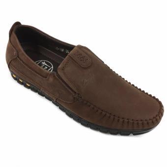Giày lười nam da cao cấp cổ điển Evest Ev124 B41