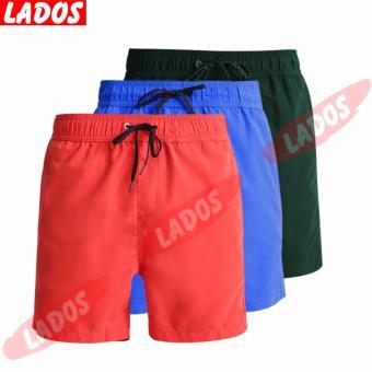 Bộ 3 quần short bơi đa năng LADOS-454(Cam,Xanh dương,Rêu)