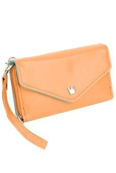 Multi function Women's Wallet (Light Brown)