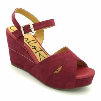 Giày đế xuồng Carlo Rino 333000-200-04 (màu đỏ)