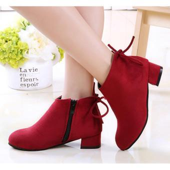 Giày Bốtbé Gái Z-27 (Đỏ)