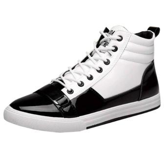 Giày nam GN33 Family Shop GN33 (Đen phối trắng)