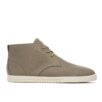 Giày Sneaker nam Cổ Cao Clae Strayhorn Textile (Cla01274) (Nâu Tanin)
