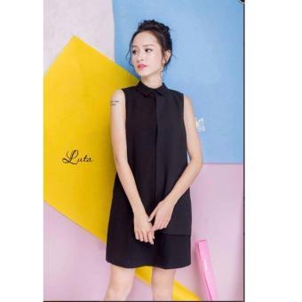 Đầm Suông Xavia Clothes Luta (Đen)