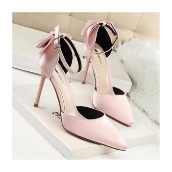 Giày cao gót kết nơ hậu thời trang - LN620