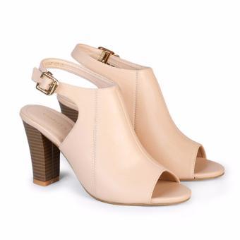 Giày cao gót nữ 9cm Hùng Cường HC1304 (Kem)