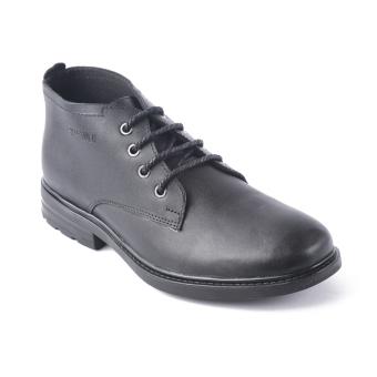 Giày da cổ lửng tăng chiều cao SMARTMEN GD1-04 (Đen)