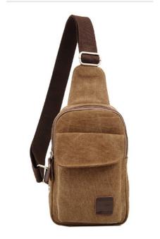 Túi đeo chéo dành cho nam (Nâu đậm)