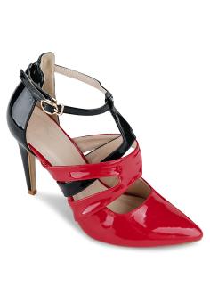 Giày Cao Gót Janvid L033 (Đỏ)