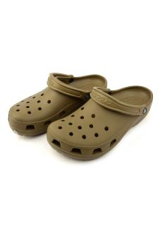 Giày lười nam Crocs Classic Khaki (Nâu)