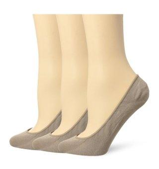 Bộ 3 đôi tất (vớ) lót nữ nude Tommy Hilfiger Women's 3 Pr Low Cut (Mỹ)
