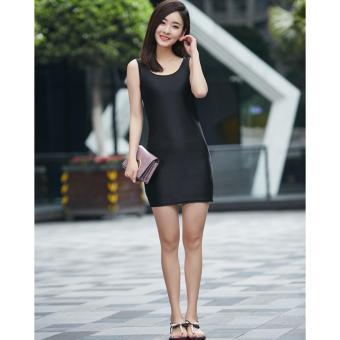Đầm thun suông Sodoha - SWD1539BL (Đen)
