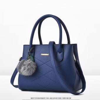 Túi xách thời trang nữ three MH490 xanh