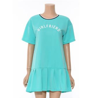 Đầm Lime Orange LO5110006 (Xanh Thiên Thanh)