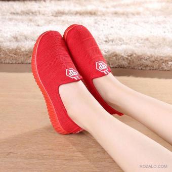 Giày Sneaker nữ Rozalo RWG6601R-Đỏ
