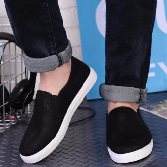 Giày vải nam mẫu mới ( đen )