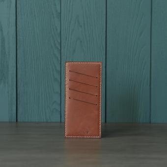 Ví đựng thẻ nữ Doris de V 004 (Đỏ mận)