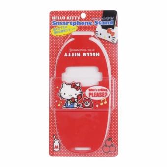 Giá đỡ điện thoại Hello Kitty Màu đỏ Bản quyền Sanrio nhập khẩu Nhật Bản