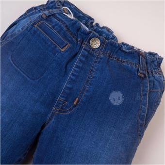 Quần jeans PSB lửng bé trai túi đôi xanh nước biển
