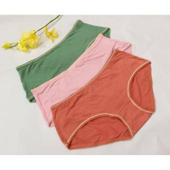 Bộ 10 quần lót nữ cotton mịn cao cấp dưới 60kg CTM210
