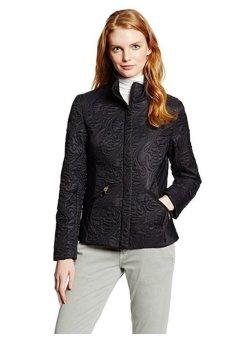 Áo Khoác Nữ T Tahari Women's Sydney Paisley Quilted Jacket (Mỹ) (Đen)