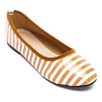 Giày búp bê nữ LADA JOY NOW4 (Nâu)
