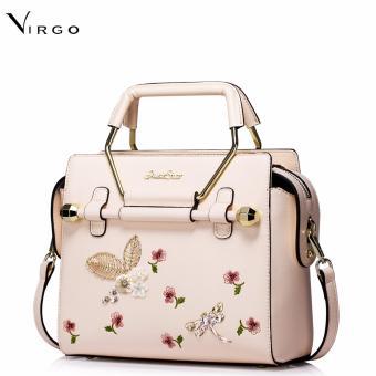 Túi xách nữ đẹp thời trang đính hoa 3D VG261