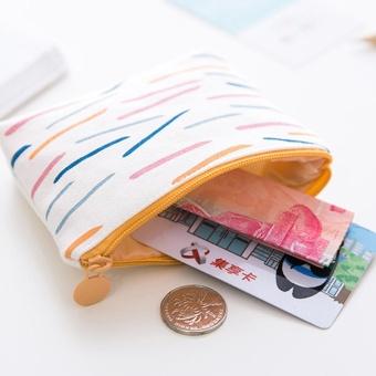 Zipper Pencil Case Cute Portable Key Coin Purse Makeup Bag - intl