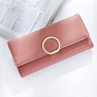 Bóp ví nữ thời trang Weichan A511-40 - Hồng cánh sen
