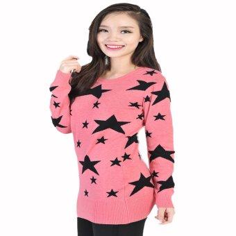 Áo len nữ ngôi sao HQLens (Hồng)