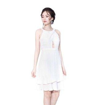 Đầm nữ Piqué Store P001 (Trắng)