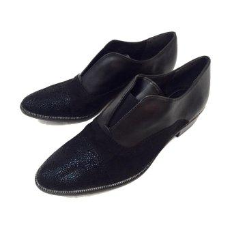 Giày oxford Simili Đen nữ Tamarind SHOE011