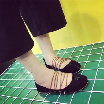 Giày búp bê cột giây PL942