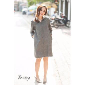 Đầm suông tay dài Xavia Clothes Bunting