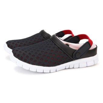 Hot Summer Mens Boys Slipper Mesh Sports Sandals Breathable Flats Beach Shoes - Intl