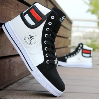 2016 New Fashion Men's Casual High Top Sport Shoes Running Athletic Sneakers - Intl