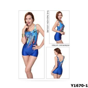 Bộ liền váy Yingfa Y1670-1 (xanh)
