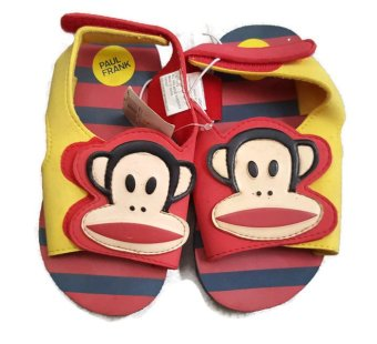 Giày sandal xốp dành cho bé trai 3-6 tuổi Paul Frank monkey sandal (Mỹ)
