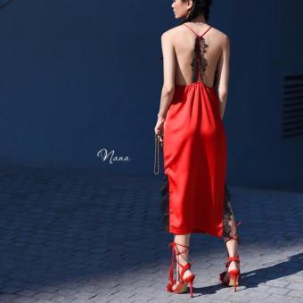 Dầm dự tiệc Xavia Clothes (Đỏ)