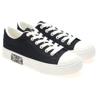 Giày sneaker thể thao nữ HNP GN002 (Đen)