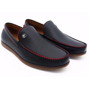Giày lười nam thương hiệu pierre cardin LB066-BLACK
