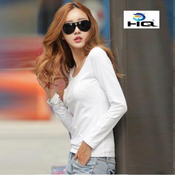 Áo Thun Thời Trang Phong Cách Hàn Quốc HQ 3TI54 2 (trắng)