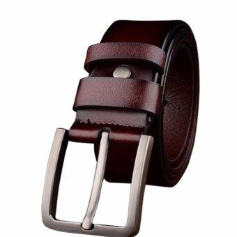 Dây lưng nam khóa gài cổ điển ROT010 (Cà phê nhạt) - 3708142