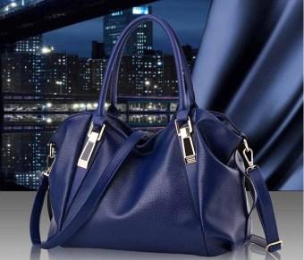 Túi xách thời trang nữ dễ thương TM027 (Xanh đen)
