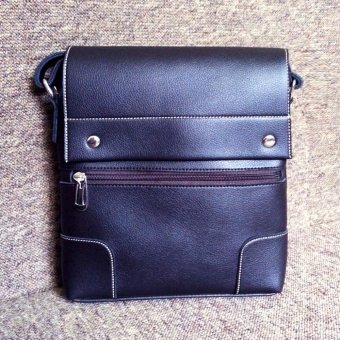 Túi đeo chéo nam da PU cao cấp TD03 (Nâu Cafe)