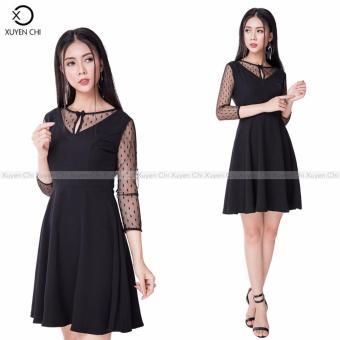 Đầm liền Sunny Design DL 205 đen