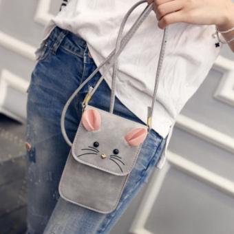 Túi điện thoại mèo râu MR1 (Xám) J5